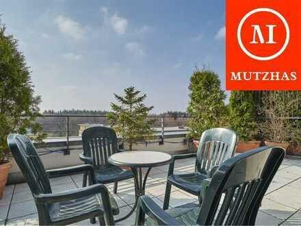 MUTZHAS - Wunderschöne, große Dachterrasse mit Südausrichtung - 3-Zi-Whg - Großhadern