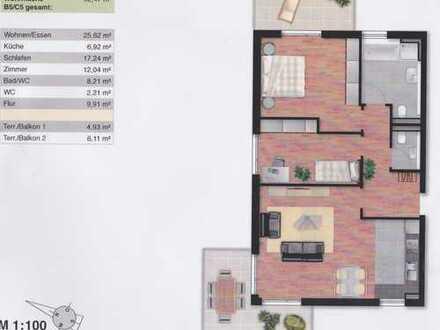 Exklusive, neuwertige 3-Zimmer-Wohnung mit Balkon und EBK in Waiblingen