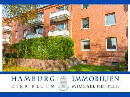 Sonnige 3 Zimmer Wohnung mit Terrasse und ca. 65 qm in 22179 Hamburg Bramfeld