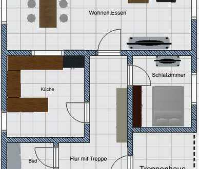 Helle, großzügige Maisonette-Wohnung mit Galerie zum Kauf in zentraler gepflegter Lage in Augsburg