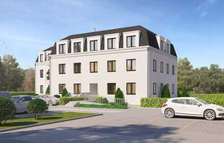 Attraktive Drei-Zimmer-Erdgeschosswohnung mit Südbalkon in Villenkolonie Falkensee-Finkenkrug