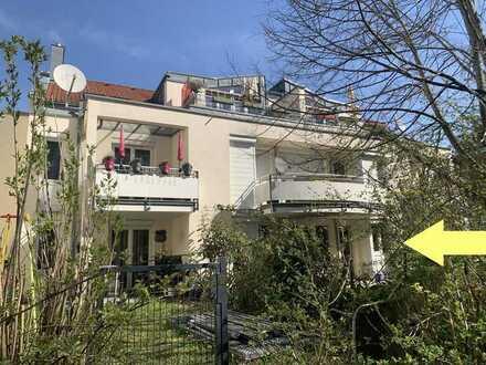 Top Wohnung im Erdgeschoss mit großzügigem Terrassen- und Gartenbereich