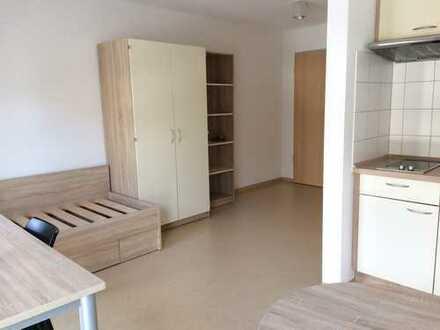 Modernes Mikro-Apartment im Neubau mit Terrasse! Zentral & teilmöbliert!