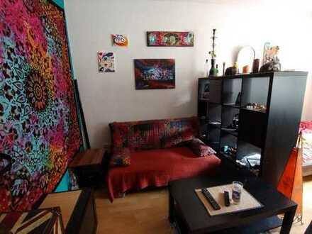Perfektes Studentenzimmer (17m²), zentral und ruhig, mit viel Natur umzu