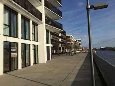 231qm Büroloft im Landmark Tower, direkte Weserlage, Überseestadt Bremen