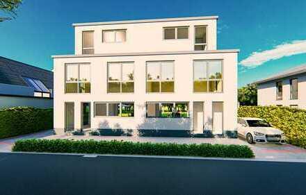 Individuell planbar: Bauhausstil Doppelhaushälfte (schlüsselfertig) mit 160m² + Garage in guter Lage