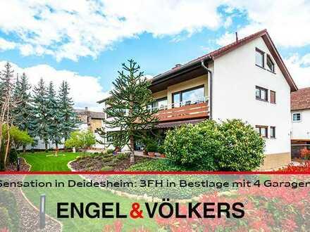 Sensation in Deidesheim: 3FH in Bestlage mit 4 Garagen!