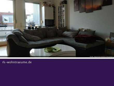 SCHICKE 2 ZIMMER-DACHGESCHOSS-WOHNUNG IM PENTHAUS-STIL IN ASCHAFFENBURG!