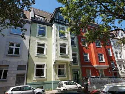 Vermietete Altbauwohnung mit großer Terrasse im Mädchenviertel von Essen-Rüttenscheid