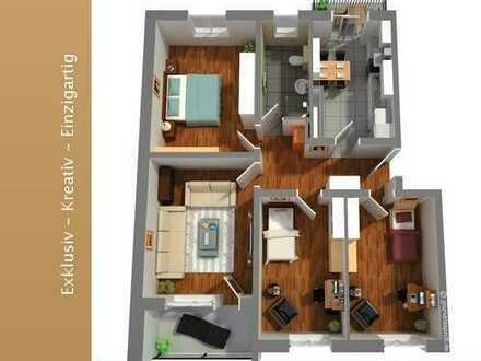 Eine Rarität in gesuchtem Wohngebiet der List! 4 Zimmer auf 96 qm im 1. OG mit zwei Balkone