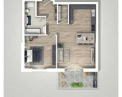  L I V I N G  - in Egenhausen, Freundlich & modern! 2-Zimmer-Wohnung