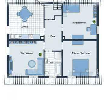 freundliche 3-Zimmer Wohnung in gefragter Wohnlage von Sulzbach-Rosenberg