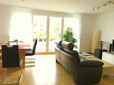 Attraktive 3-Zimmer-Wohnung mit Balkon und Einbauküche in Freiburg Rieselfeld