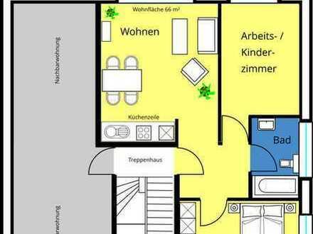 Stilvolle, gepflegte 3-Zimmer-Wohnung mit Balkon in Münster-Gremmendorf