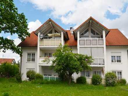 3-Zimmer-Hochparterre-Wohnung in Bopfingen mit zwei Balkonen und Garage