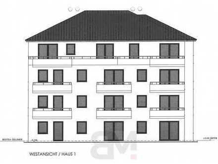 2-Zimmerwohnung mit 72,25 qm im EG mit Terrasse und Garten