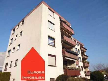 Schöne, helle 3-Zimmer-Mietwohnung mit Balkon und Carport in einem gepflegten MFH in Niefern