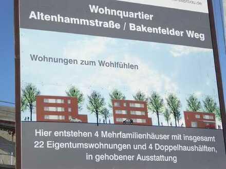 """Obergeschoss-Eigentumswohnung im Wohnquartier """"Altenhammstr./Bakenfelder Weg"""" Nähe Schloss Wes"""