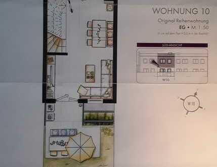 Neuwertige 4-Raum-Wohnung mit Terrasse und Einbauküche in Öhringen