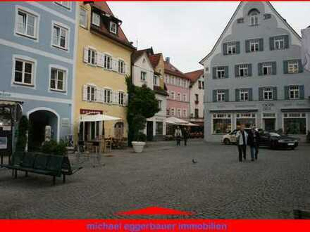 Ladengeschäft in Füssens Fußgängerzone