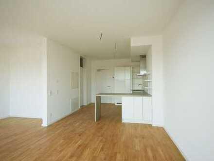 Moderne 1-Zimmer Neubau-Wohnung mit Einbauküche & Balkon