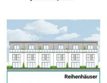Modernes Reihenhaus mit Garage, Garten und Dachterrasse