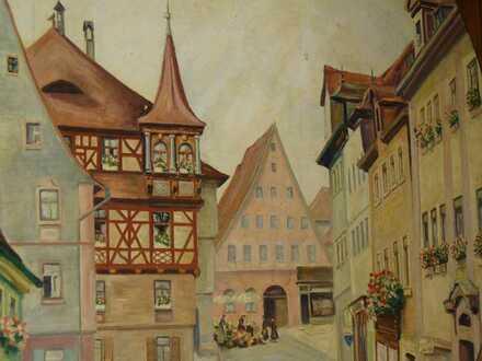 Historische 5-Zimmer-Etagenwohnung mit EBK in Schwabach