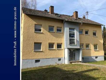 Neu renovierte 1 ZKB Dachgeschosswohnung mit Einbauküche in Waldböckelheim zu vermieten!
