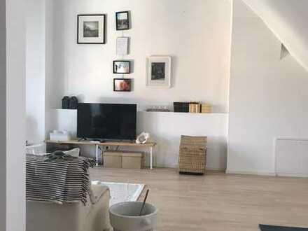 attraktive Maisonette-Wohnung mit Dachterrasse und Einbauküche in Waldkirch