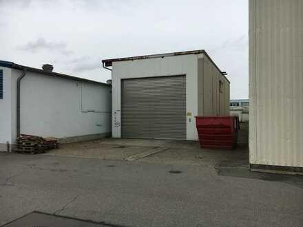Lagerhalle/Werkstatt/Freifläche 120 m² zu vermieten