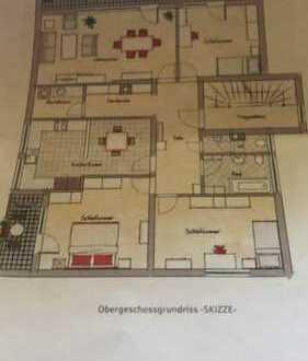 Preiswerte, gepflegte 4-Zimmer-Wohnung mit 2 Balkon und Einbauküche in Schwebheim