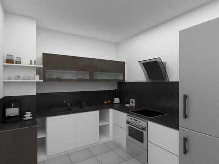 Schöne 3 Zimmer 63 m² 1. OG inkl. Küche und Balkon nähe Audi