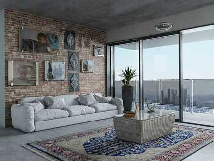 Wohnen auf hohem Niveau in bester Lage von DD-Unterbilk im außergewöhnlichen Penthouse!
