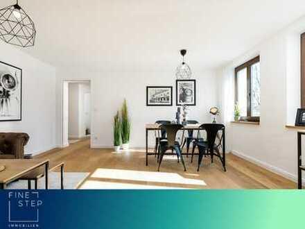 Neu renoviert und bezugsfrei: Attraktive 3-Zimmer Wohnung mit zwei Balkonen