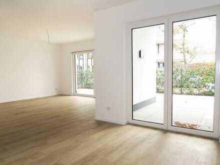 Exklusive 2,5 Zimmer-Erdgeschosswohnung