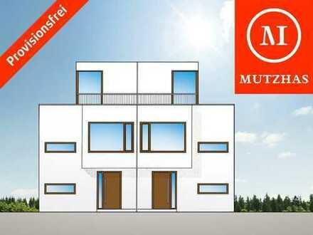 MUTZHAS - Architekten Haushälfte mit großer Dachterrasse - PROVISIONSFREI