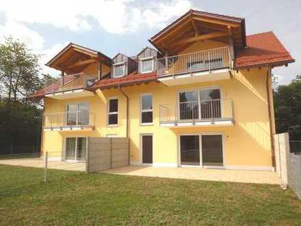 Neubau: Exklusive Etagenwohnungen im 1. OG oder EG mit Garten