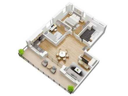 Haus Urban Alps - 2- Zimmer Wohnung mit toller Aussicht **KfW 40+** -Auch als Kapitalanlage geeignet
