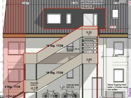 ***RESERVIERT***Genehmigungspflichtiges 3-4 Familienhaus mit großzügiger Grundstücksfläche