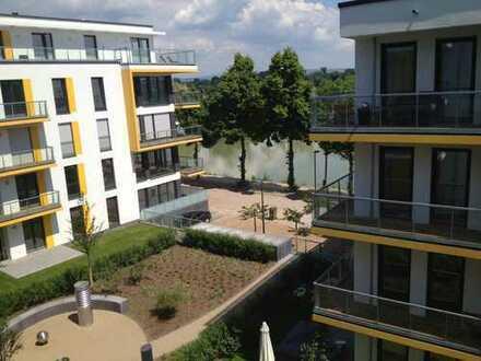 Rhine River, Am Winterhafen 30, 3.OG, Mainz-Altstadt, Downtown, exkl. 4ZK2B2B, Einbauküche
