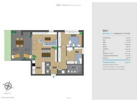 Haus F – stilvoll Leben in Winnenden-Schelmenholz, WE 11 /1. OG