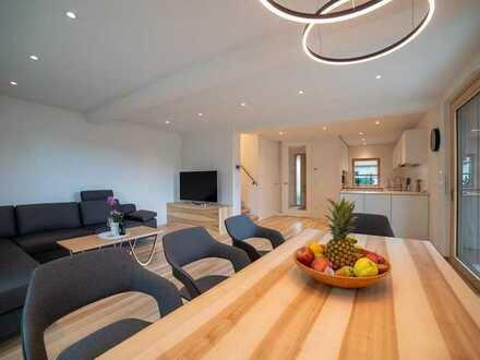 Zukunftsweisende Neubau Energiesparhäuser in Holzständerbauweise KfW 40+