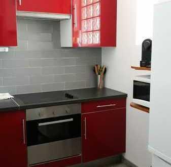 Gepflegte möblierte 3-Zimmer-Wohnung mit Balkon und Einbauküche in Kniebis