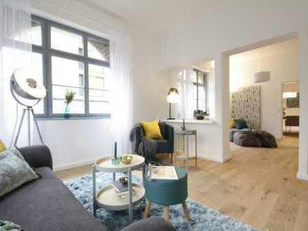 Traumhafte, frisch renovierte 3-Zimmer-Altbauwohnung, zentral gelegen (Sonder-AfA)