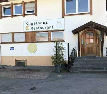 Restaurant mit 2 Kegelbahnen im Oberallgäu zu vermieten
