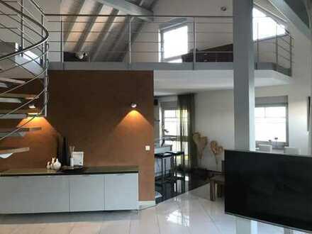 Exklusive 3,5 Zimmer- Maisonette- Wohnung zur Miete in Lorsch