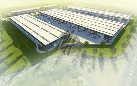 PROVISIONSFREI! NEUBAU/ERSTBEZUG! Lager-/Logistikflächen (27.200 qm) & Büro (1.800 qm) zu vermieten