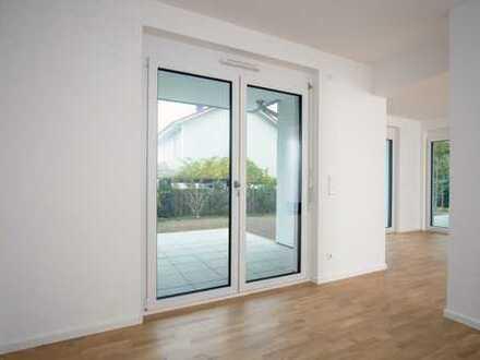 Neubau Erstbezug ! Schöne helle 3-Zimmerwohnung mit Balkon und Tiefgaragenstellplatz