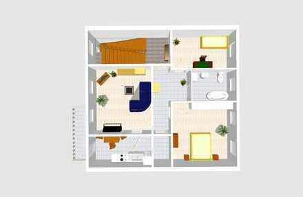 ruhige Wohnung im Stadtkern mit Südbalkon