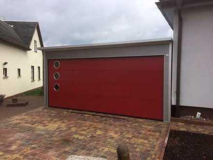 ISO Dopppel-Garage mit Pultdach